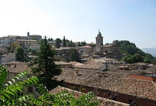 Verucchio Borgo e Chiesa Collegiata.