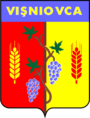 Vișniovca coat of arms.png
