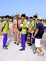 Vice-Admiral Shu-Guang Huang, ROCN Deputy Commander Talking with Students of Kaohsiung Siaogang Senior High School in 2015 Zuoyang Naval Base Open Day 20151024.jpg