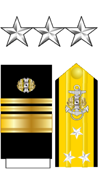 Judge Advocate General's Corps, U.S. Navy - Image: Vice Admiral O9