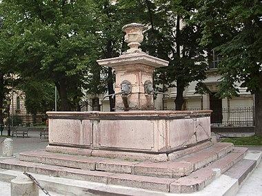 Vier Loewen Brunnen