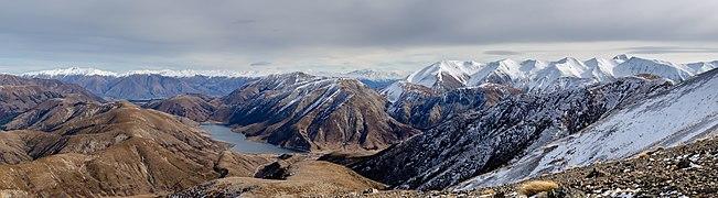 View from Foggy Peak to Lake Lyndon, New Zealand.jpg