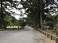 View near site of East Gate of Hagi Castle.jpg