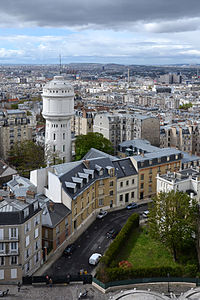 View of Paris North west from the dome of Sacré Coeur DSC 0047.JPG