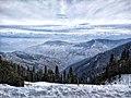 View of peaks from the way to Hatu Peak, Narkanda.jpg