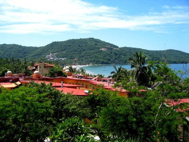 View over Playa La Ropa