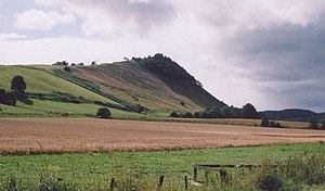 Battle of Drumchatt - Image: View towards Knock Farril geograph.org.uk 385934