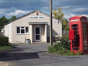 Winterborne Kingston - The village hall.