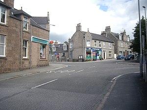 Torphins - Image: Village crossroads, Torphins