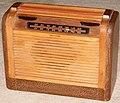Vintage Philco Portable Radio, Model 46-350, Broadcast Band Only (MW), 6 Tubes, Line & Battery Powered, Made In USA, Circa 1946 (14722171888).jpg