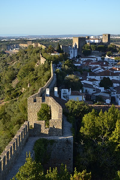 File:Vista da Vila de Óbidos.jpg