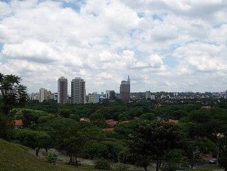 Alto de Pinheiros (district of São Paulo) - Image: Vista do Alto de Pinheiros