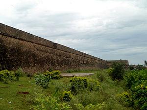 Vizianagaram Fort - Vizianagaram fort walls