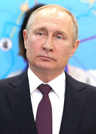Vladimir Putin - Putin in 2019