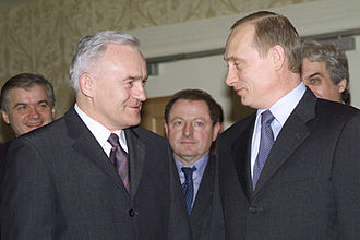 Foreign relations of Russia - Meeting with Polish Prime Minister Leszek Miller, 2002
