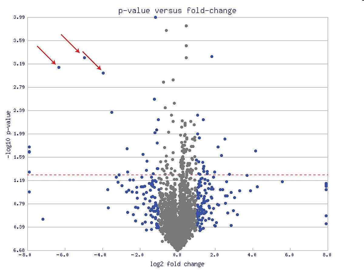 volcano plot  statistics