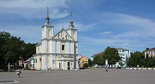 Volodymyr-Volynskyi City in Volyn Oblast, Ukraine