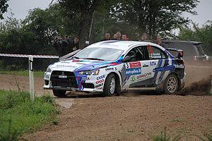 Juta Racing - Švedas's EVO X from 2011