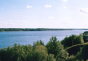 Vychegda River - The lower course of the Vychegda