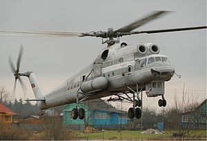 Mil Mi-10 - Mil Mi-10K of Vzlet in 2006.