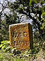 W.D. Survey stone. - geograph.org.uk - 1362430.jpg