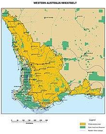 Western Australian Islands Map Mandela