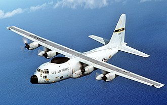 54th Weather Reconnaissance Squadron - 54th Weather Reconnaissance Squadron Lockheed WC-130 in flight