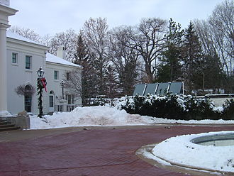 Wisconsin Governor's Mansion - Solar panels at the executive residence.