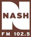 WMDH-FM (Nash FM 102.5) logo.png