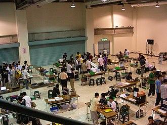 World Robot Olympiad - WRO2007 in Taiwan