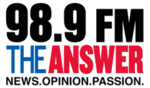 WTOH 98.9FMTheAnswer logo.png