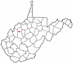 Location of Reedy, West Virginia