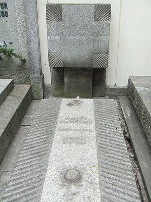 Wacław Sierpiński - Grave of Wacław Sierpiński