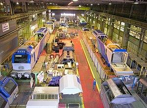 Iranian railway industry - Image: Wagon Pars co Arak .Iran