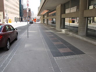 Canada's Walk of Fame - A line of stars along Simcoe Street