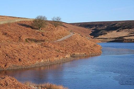 Walshaw Dean Upper Reservoir - geograph.org.uk - 130907