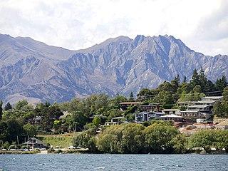 Wanaka Town in Otago, New Zealand