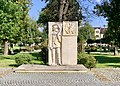 War Memorial at Main Square in Nowy Korczyn, Poland, 2019.jpg