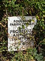 Warning sign in Reepham Road - geograph.org.uk - 1521287.jpg