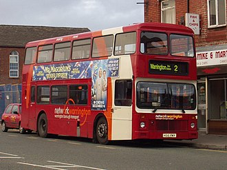 Northern Counties Palatine - A Warrington Borough Transport bus with Northern Counties Palatine bodywork.