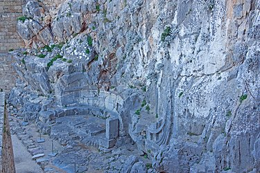 Warship relief at the acropolis of Lindos 2010 2.jpg