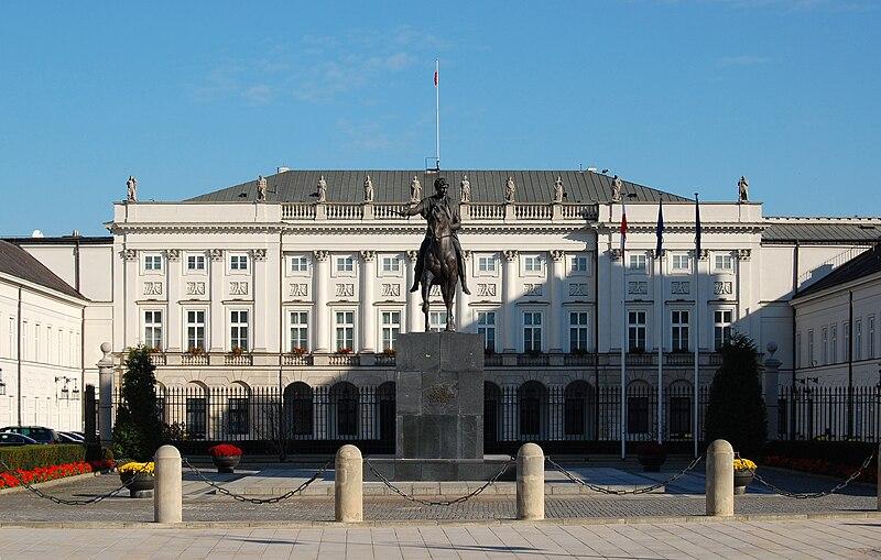 File:Warszawa Pałac Prezydencki.jpg