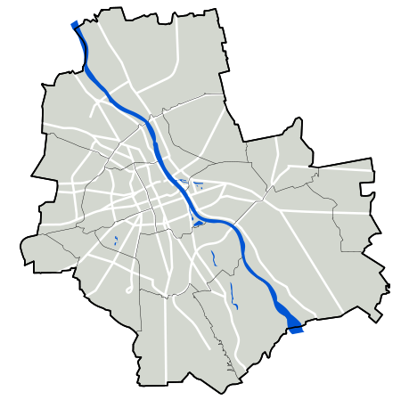 Warszawa outline with districts v4.svg