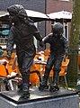Wassenaar kunstwerk rolschaatsenden kinderen.jpg