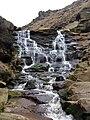 Waterfall, Birchen Clough - geograph.org.uk - 158151.jpg