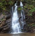 Waterfall on Lake Jocassee - panoramio.jpg