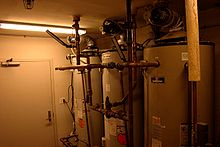 chaudiere gaz production eau chaude