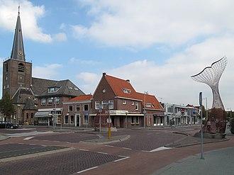 Wateringen - Image: Wateringen, straatzicht met kerk 1 2009 09 27 12.47