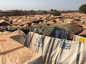 2016–17 Wau clashes - Image: Wau refugee camp 1