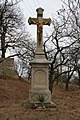 Wayside cross in Čáslavice, Třebíč District.jpg